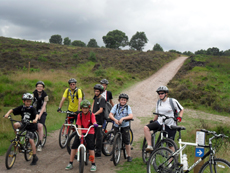Off-road cycling in Staffordshire