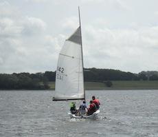 Sailing at Bewl Water