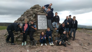 Dunkery Beacon conquered