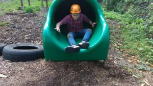 Assault course - slide