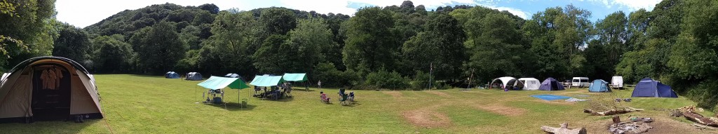 The Campsite in all it's glory!