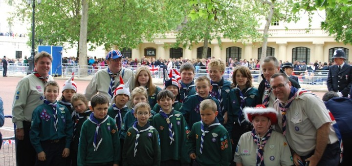 Diamond Jubilee Parade 2012